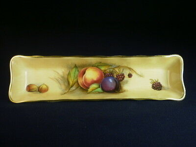 Aynsley Orchard Gold Pen Tray