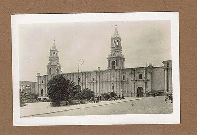 RPPC PERU Arequipa The Cathedral