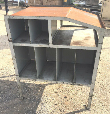 Industrial Heavy Duty Solid Steel Storage Shelves Shelving And Pigeon Holes #IFB