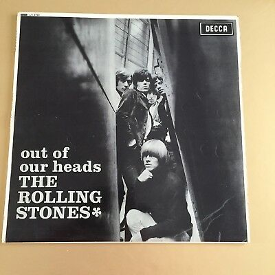 THE ROLLING STONES Out of Our Heads SUPERB UK 1965 UNBOXED EX++