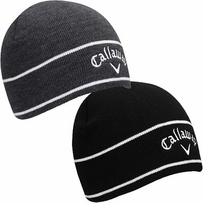 Callaway Weather Series TA Odyssey Beanie Fleece Lined Mens Golf Winter Hat