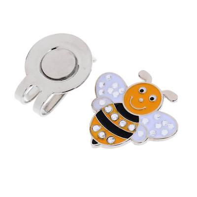 New Funny Bee Golf Ball Marker With Magnetic Hat Clip Golf Gifts