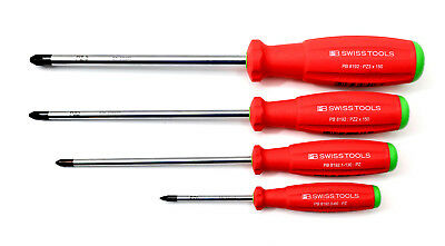 PB SWISS TOOLS 8192 Pozidriv Schraubendreher Screwdriver  4-tlg. NEU