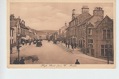 High Street from west, Peebles