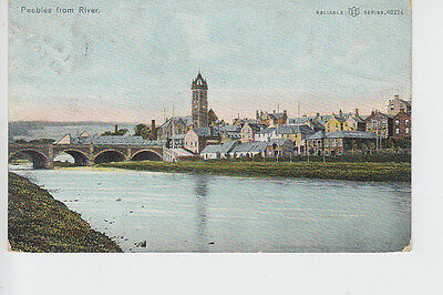 Peebles from the River Tweed