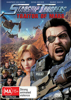 Starship Troopers Traitor Of Mars DVD R4 New!
