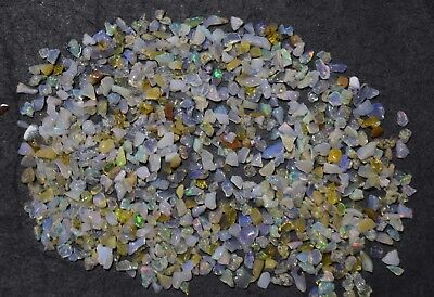 44.15 Ct FreeForm Natural Ethiopian Welo Fire Opal Rough Chips OR775U