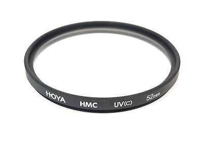 Hoya HMC 52mm UV(C) Filter - Cleaned and Checked - Free UK Postage