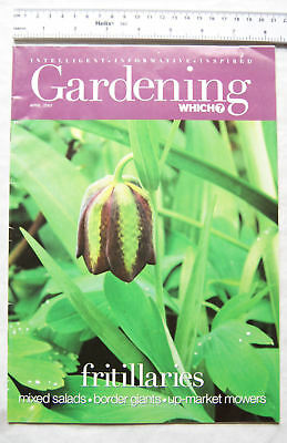 2001 Gardening Which - April