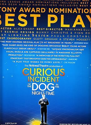 The Curious Incident of the Dog In the Night-Time 2015 RARE Broadway Promo