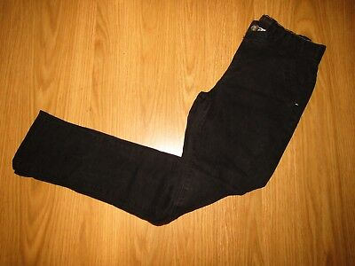 NEXT - BOYS BLACK SKINNY JEANS ADJUSTABLE WAIST - AGE 9-10 YEARS 140cm