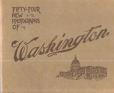 Rare 1915 Washington D.c. 54 New Photographic Prints Published Portland Maine