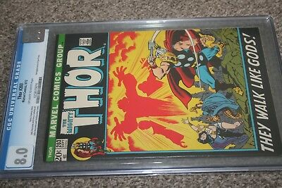 MIGHTY THOR #203_SEPTEMBER 1972_CGC GRADED 8.0_2nd APPEARANCE EGO-PRIME!