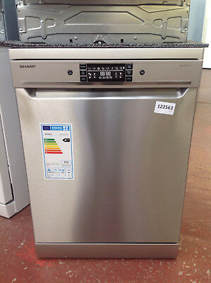 *Sharp QW-GT34F463I Standard Dishwasher - Stainless Steel #122563