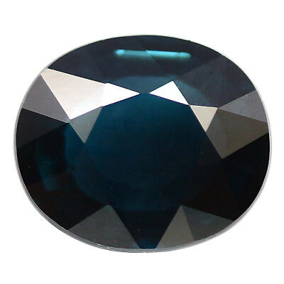 1.60 Ct Aaa! Natural! Blue Tourmaline Oval Nigeria Gorgeous
