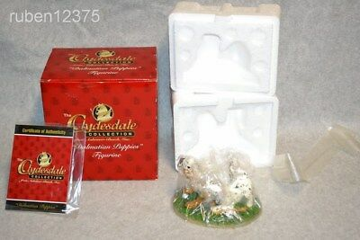 NIB Anheuser Busch Dalmatian Puppies Dog Figurine Clydesdale Collection #CLYD17