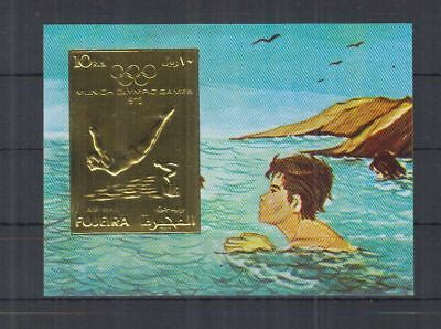 A35. Fujeira - MNH - Sport - Olympic - Gold - Imperf