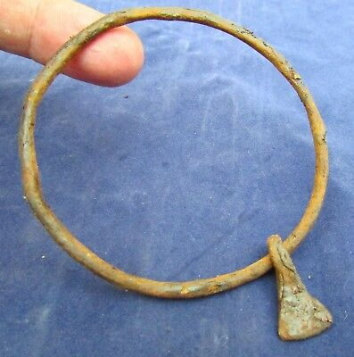 Great Viking Bracelet &  AXE - Battle Pendant - 8th-10th  AD  (257+)