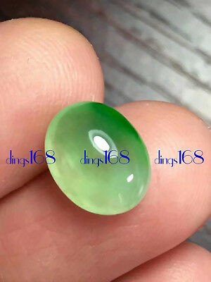 Certified 100% Natural A Jadeite Green egg noodles Pendant Ring Earrings JD543