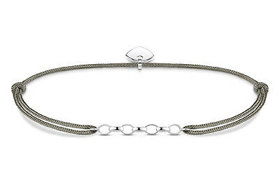 THOMAS SABO Schmuck Charm-Armband Little Secret Grau LS047-173-5-L20v