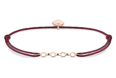 THOMAS SABO Schmuck Charm-Armband Little Secret Rot/Rosé LS052-597-10-L20v
