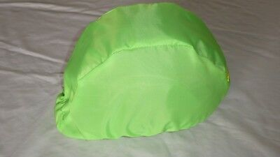 Waterproof Riding Hat Cover for Peaked Hats, Black, Red, Green, Bright Colours