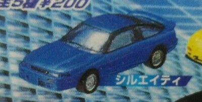 Yujin SR Initial D Plastic Gashapon Car Mini Figure - 1/72 - Nissan Sil-Eighty