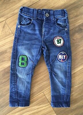 Boys Blue Jeans F&F 12-18 Months Excellent Condition