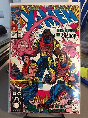 The Uncanny X-Men #282 Nov 1991 Marvel First Appearance of Bishop NM FREE SHIP!