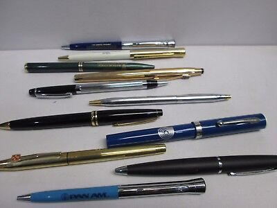 Lot Of Twelve Mixed Pen & Pencils