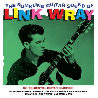 Link Wray - The Rumbling Guitar Sound Of (2LP Gatefold 180g Vinyl) NEW/SEALED
