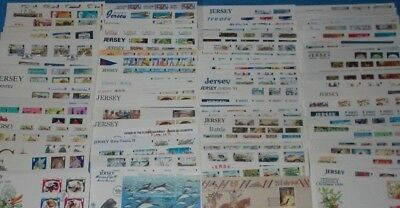 Jersey First Day & Commemorative Covers Various Issuers - Select Cover