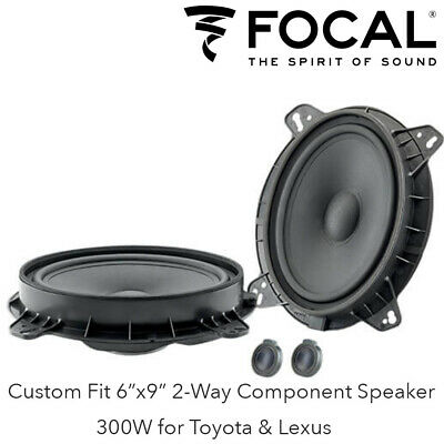 """Focal IS690TOY - Custom Fit 6x9"""" 2-Way Component Speaker 300W for Toyota & Lexus"""