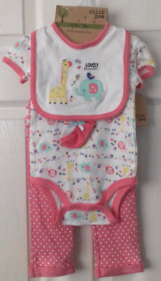 Chick Pea 4 Piece Outfit age 6-9 Months RRP £14