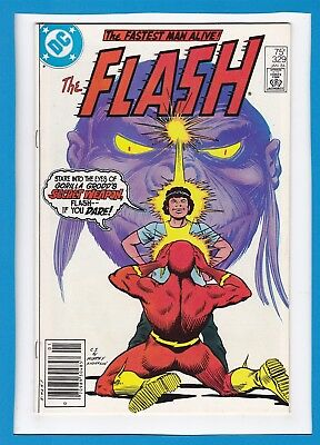 The Flash #329_January 1984_Very Fine+_Justice League Of America_Gorilla Grodd!