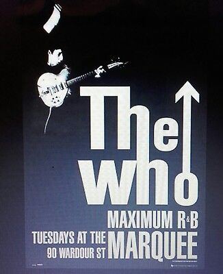 The Who : Maximum R&b Maxi Poster Brand New & Sealed 61Cm X 91Cm Poster
