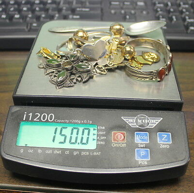 150 grams- SCRAP STERLING SILVER
