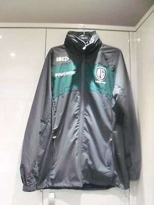 Vgc Isc London Irish Rugby Union Tracksuit Top/ Jacket Size Xl 48 Chest