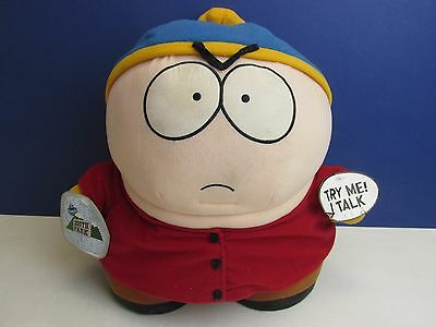 "12"" vintage talking SOUTH PARK ERIC CARTMAN soft toy plush FIGURE TOY t94"