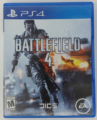 PS4 Battlefield 4 (Sony PlayStation 4, 2013) video game in Great Condition NICE