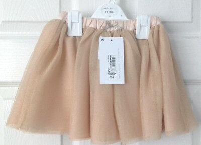 Apricot Tule Tutu Skirt age 2-3 years RRP £24 Marie Chantal for M&S