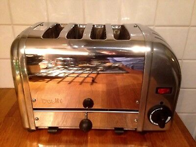 Dualit Classic Toaster 4 Slice Vario 40352 Polished Stainless Steel