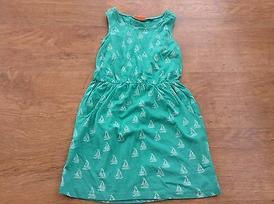 Next Girls Green Yatch  Dress 8Yrs