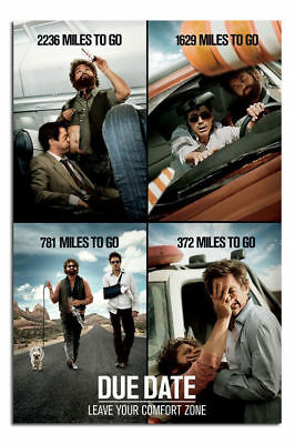 Due Date Large Movie Wall Poster New