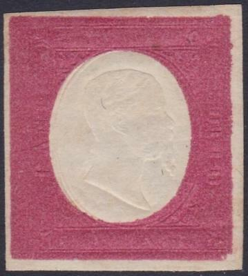ITALIAN STATES SARDINIA 1854 VEII 40c not issued with original gum B14426
