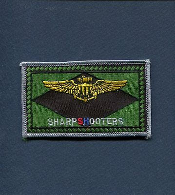 VMFAT-101 SHARPSHOOTERS AVIATOR Name Tag USMC MARINE CORPS Squadron Patch