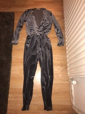 One Day (tall) Velour Jumpsuit Size 8
