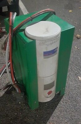Hoppecke trak air forklift charger commercial industrial premier charge rare