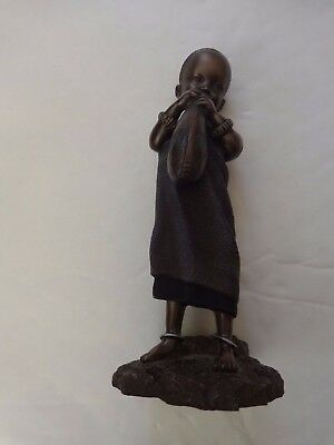 Maasai Soul Journeys - Mtihani 'inquisitive One' Stacy Bayne 2005 Figurine