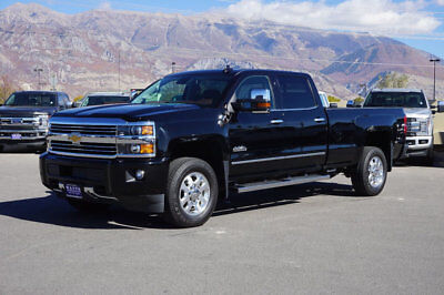 2015 Chevrolet Silverado 3500 HIGH COUNTRY CHEVY CREW CAB HIGH COUNTRY 4X4 DURAMAX DIESEL LEATHER NAVIGATION SUNROOF AUTO